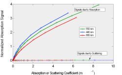 Absorption and Scattering Graph